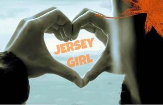 JERSEY GIRL  HAND HEART