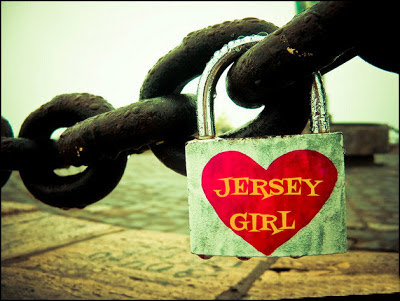 JERSEY GIRL HEART LOCK