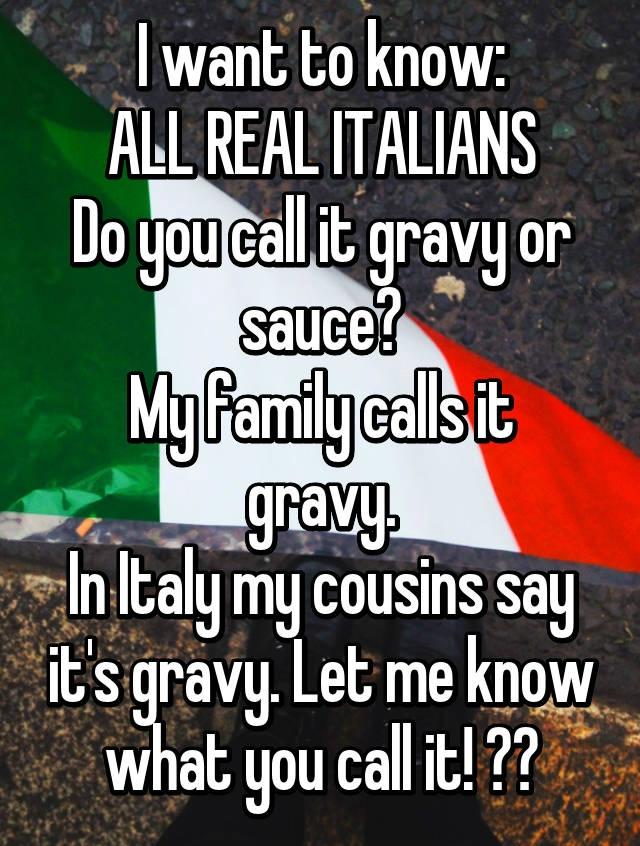 Sauce Vs Gravy