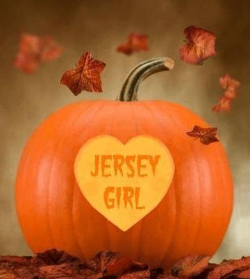 Jersey Girl Halloween Pumpkin