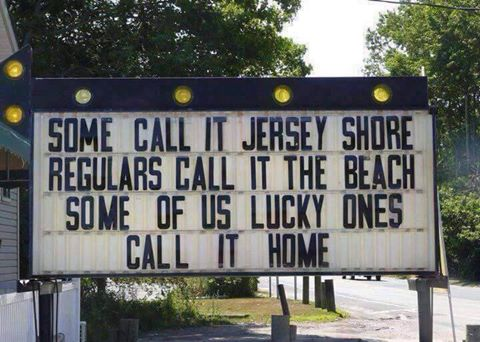 SOME CALL IT JERSEY SHORE..REGULARS CALL IT THE BEACH