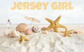 JERSEY GIRL BY THE SHELLS