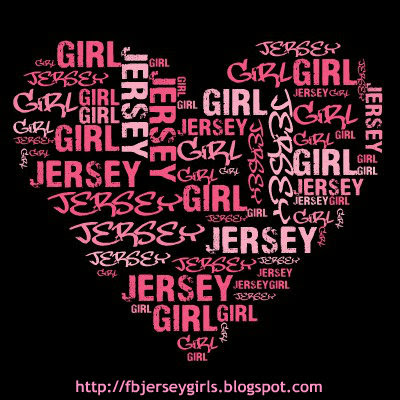 JERSEY GIRL FILLED WITHIN A HEART