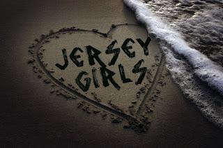JERSEY GIRL HEART ON SAND
