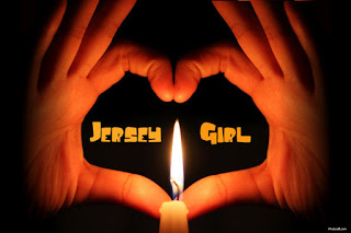 JERSEY GIRL CANDLE HEART