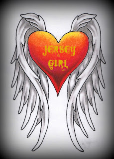 JERSEY GIRL HEART WITH WINGS