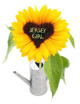 JERSEY GIRL SUNFLOWER HEART