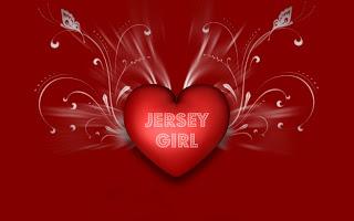 JERSEY GIRL HEART ART
