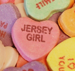 JERSEY GIRL CANDY HEART
