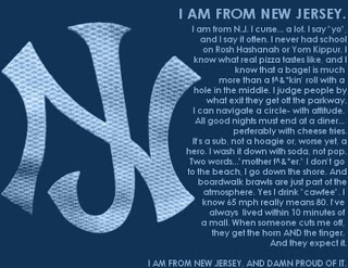 I AM FROM NEW JERSEY