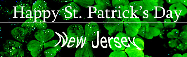 HAPPY ST. PATRICK'S DAY NEW JERSEY