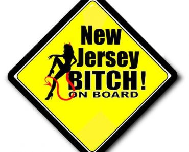 NEW JERSEY BITCH ON BOARD