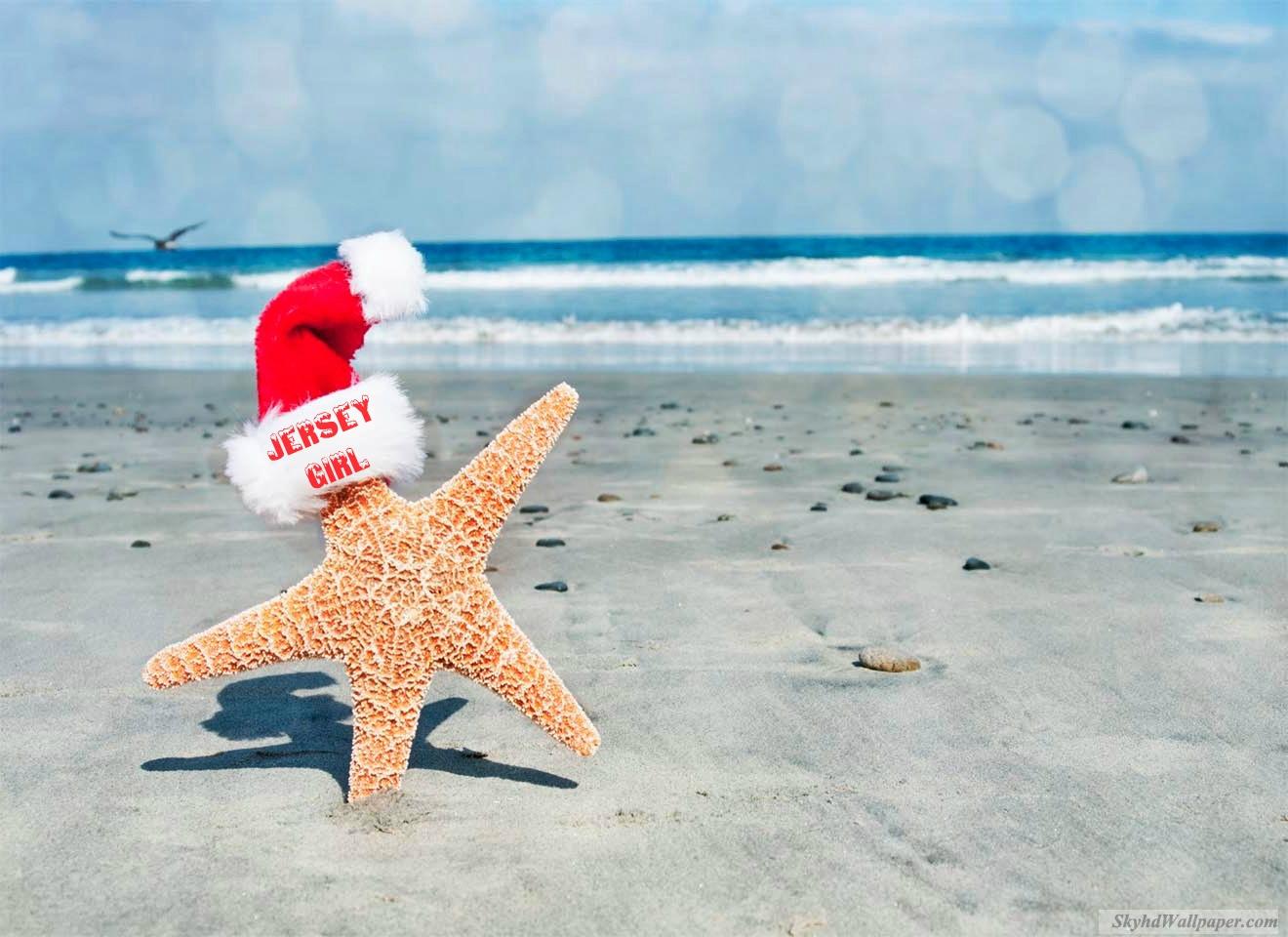 JERSEY GIRL CHRISTMAS HAT STARFISH