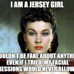 I AM A JERSEY GIRL
