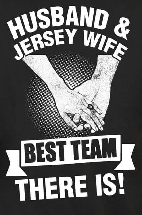 HUSBAND AND JERSEY WIFE