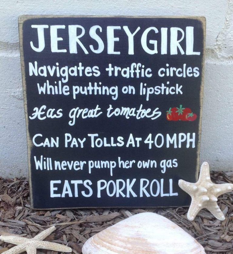 Jersey Girls do these things…
