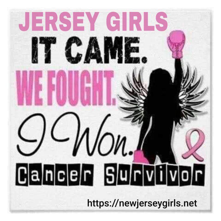 JERSEY GIRL CANCER SURVIVOR