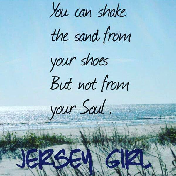 Jersey Girl can Shake the Sand from her Shoes