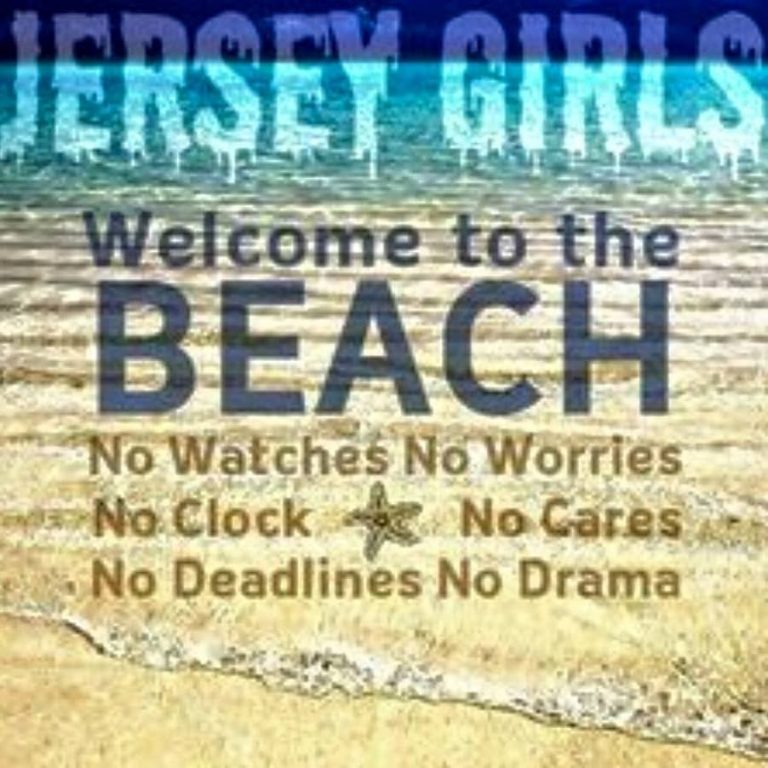 Jersey Girls… Welcome to the Beach