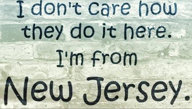 THIS IS HOW THEY DO IT IN NEW JERSEY