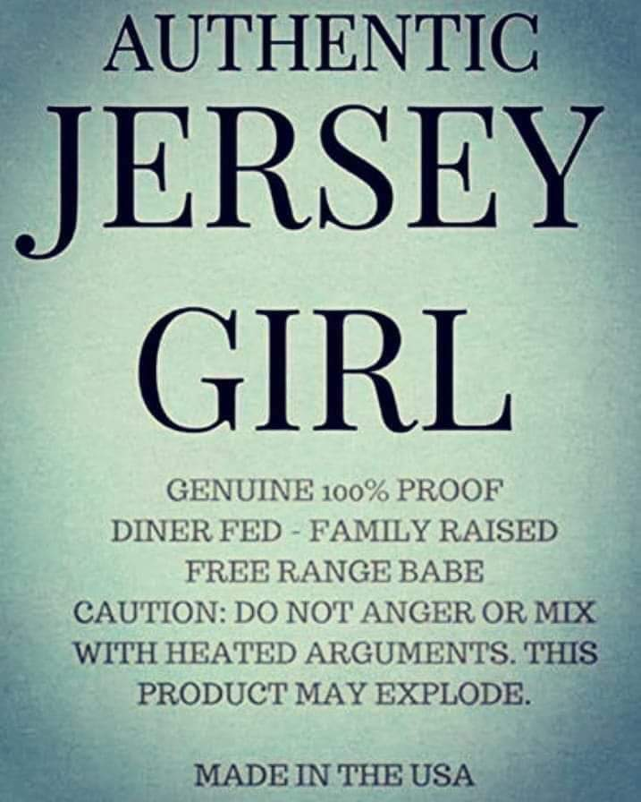 Authentic Jersey Girl