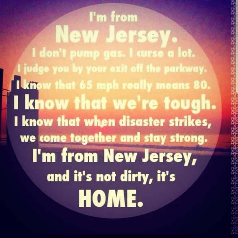 I'M A JERSEY GIRL AND THIS IS WHO I AM