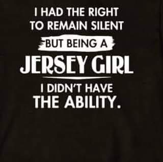 Being a Jersey Girl
