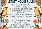 Jersey House Rules