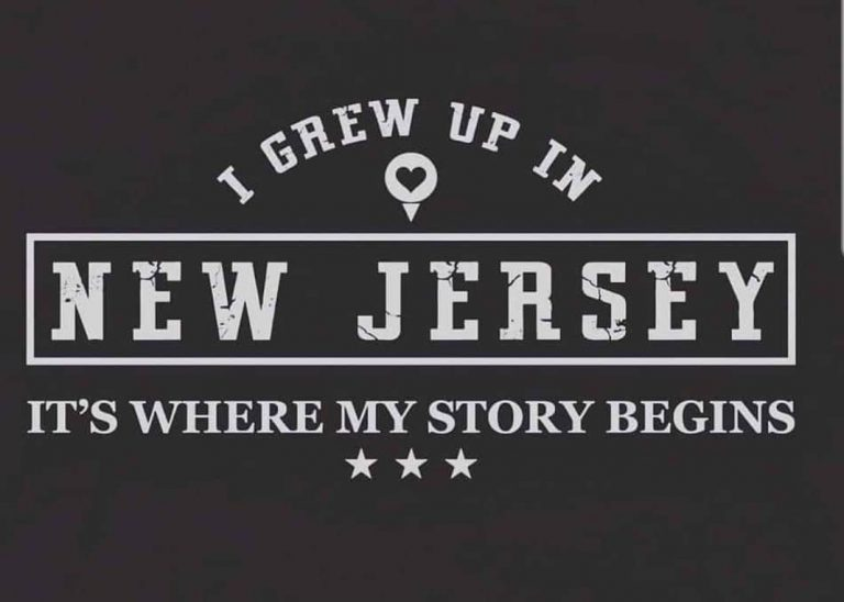 I Grew Up in New jersey
