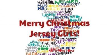 Merry Christmas Jersey Girls