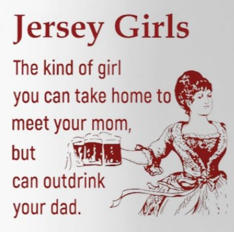 One of a Kind Jersey Girls