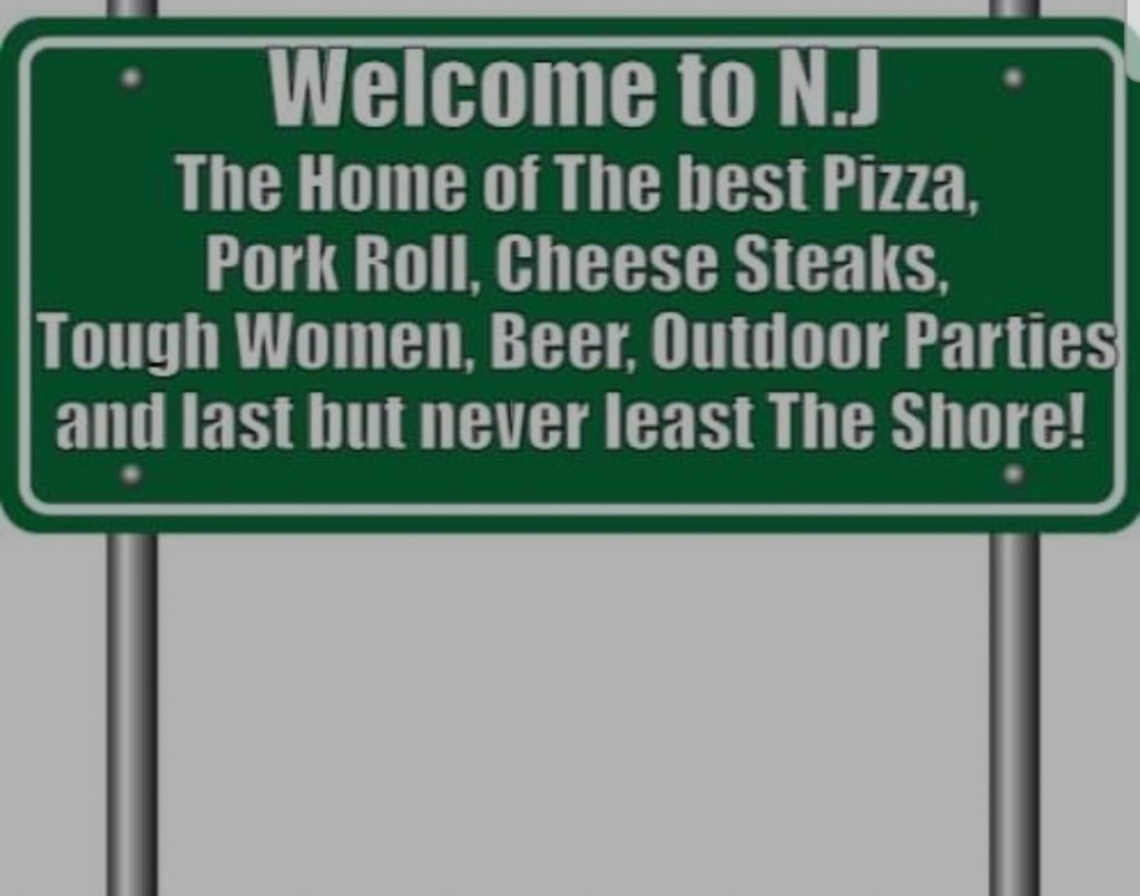 Welcome to New Jersey