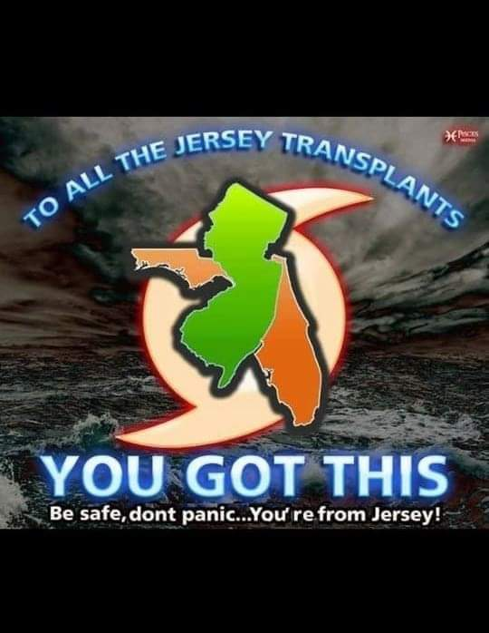 To All the Jersey Transplants